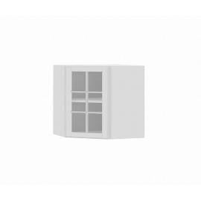 Meuble haut d'angle liath vitree L40