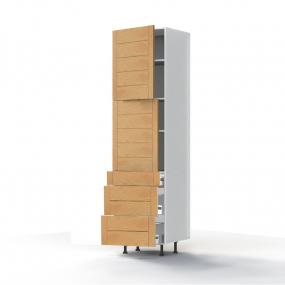 Colonne Design' 2 portes L60