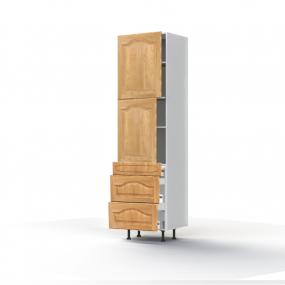Colonne Champêtre 3 portes L60xH213,8xP56