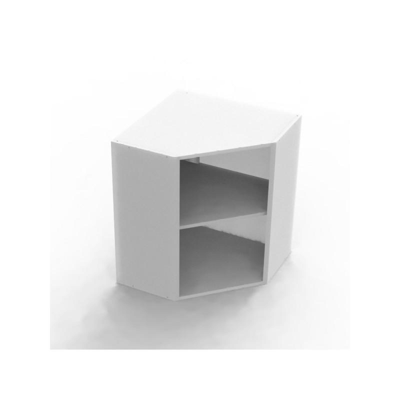 Mon Espace Maison Caisson Haut Angle Largeur 40cm Melamine Blanc