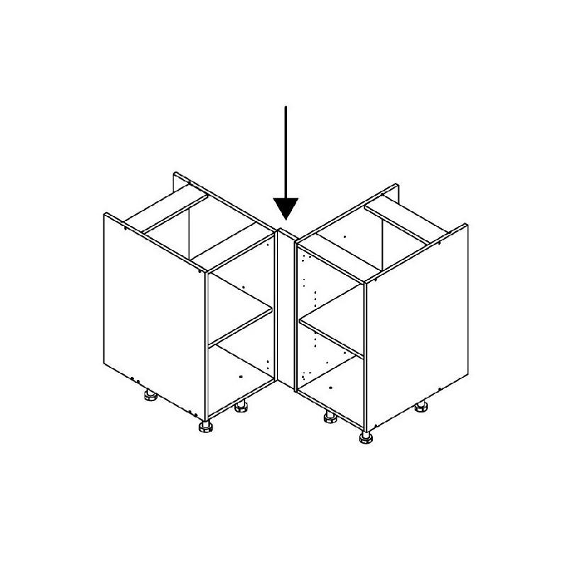 mon espace maison fileur d 39 angle cuisine pin massif brut. Black Bedroom Furniture Sets. Home Design Ideas