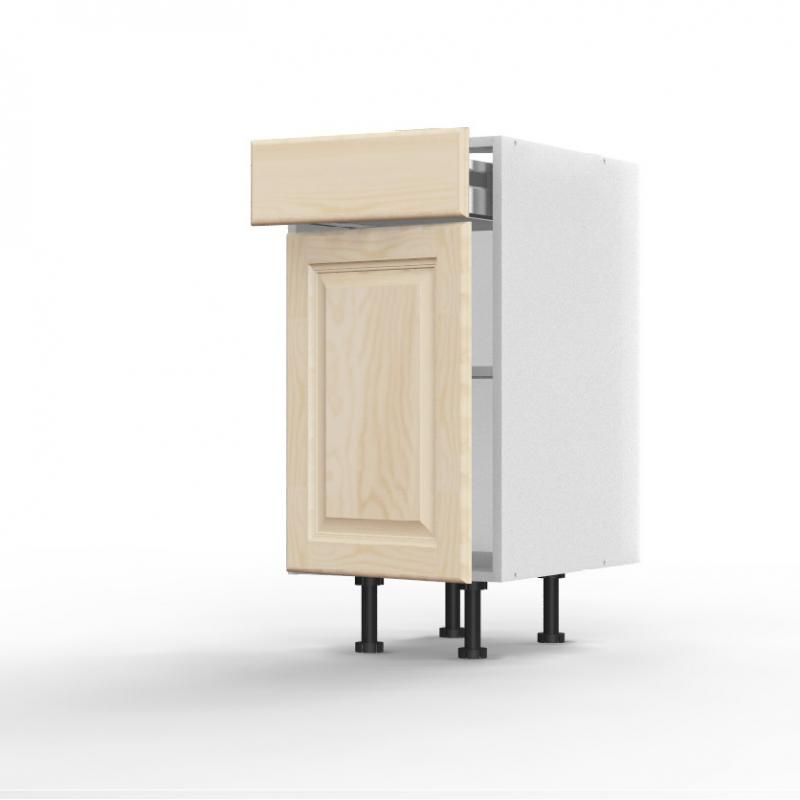 meuble bas pennsylvania 1 porte 1 tiroir l40xh715xp56