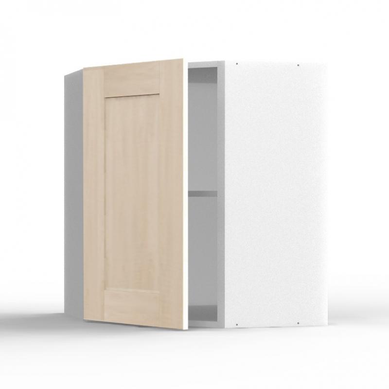 mon espace maison meuble haut cuisine angle chene massif brut largeur 40cm. Black Bedroom Furniture Sets. Home Design Ideas