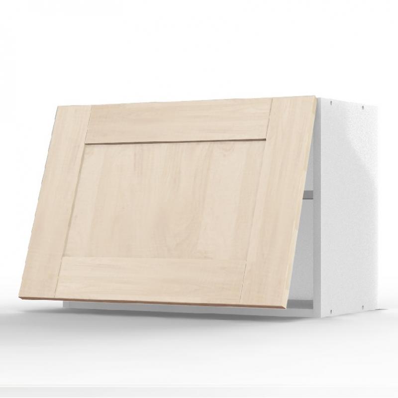 Mon espace maison meuble haut sur hotte cuisine chene for Meuble sur hotte ikea