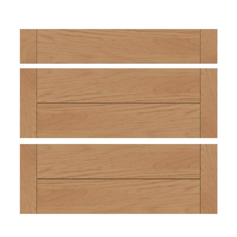 mon espace maison meuble bas cuisine chene massif verni largeur 80cm. Black Bedroom Furniture Sets. Home Design Ideas