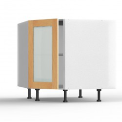 Meuble bas d'angle Design' L40
