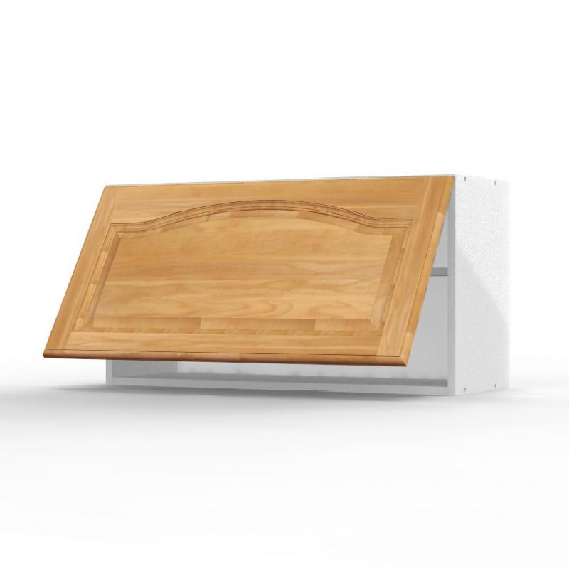 mon espace maison meuble haut cuisine chene massif verni largeur 80cm. Black Bedroom Furniture Sets. Home Design Ideas