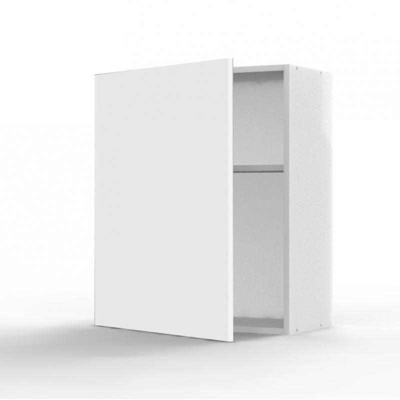 Mon espace maison meuble haut cuisine blanc brillant for Meuble haut profondeur 60