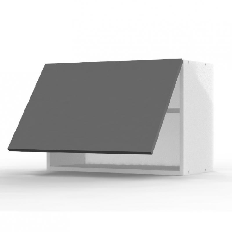 Mon Espace Maison - Meuble haut cuisine gris brillant largeur 60cm