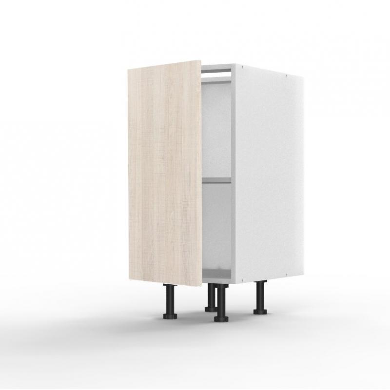 mon espace maison meuble bas cuisine chene clair largeur 40cm. Black Bedroom Furniture Sets. Home Design Ideas
