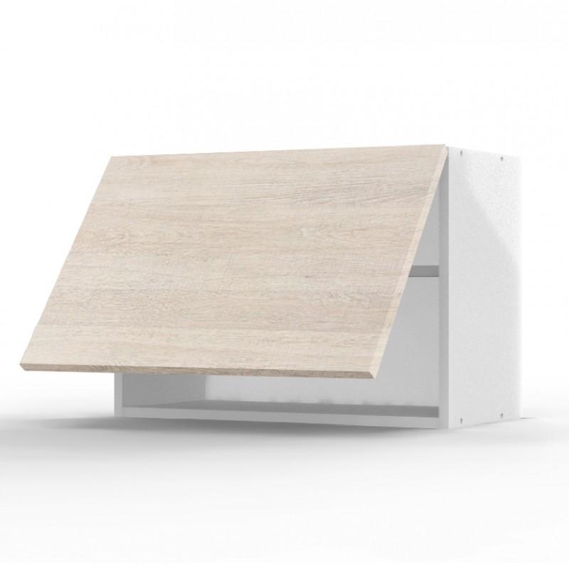 mon espace maison meuble haut cuisine noyer blanchi largeur 60cm. Black Bedroom Furniture Sets. Home Design Ideas