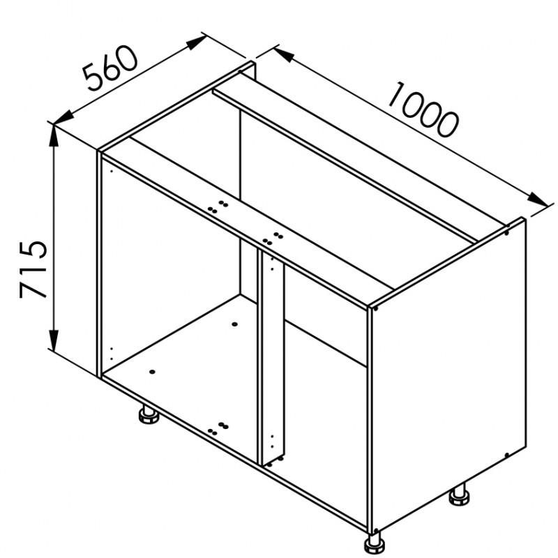 mon espace maison meuble bas cuisine vanille brillant. Black Bedroom Furniture Sets. Home Design Ideas