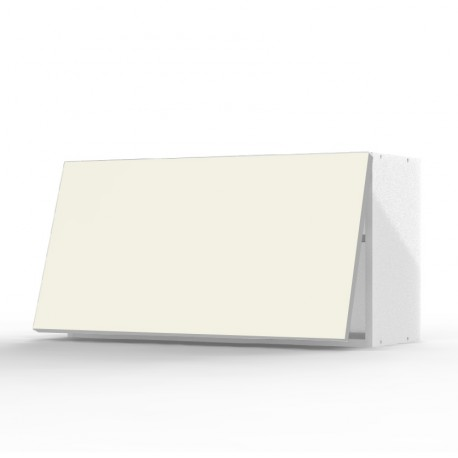 mon espace maison meuble haut cuisine vanille brillant largeur 80cm. Black Bedroom Furniture Sets. Home Design Ideas