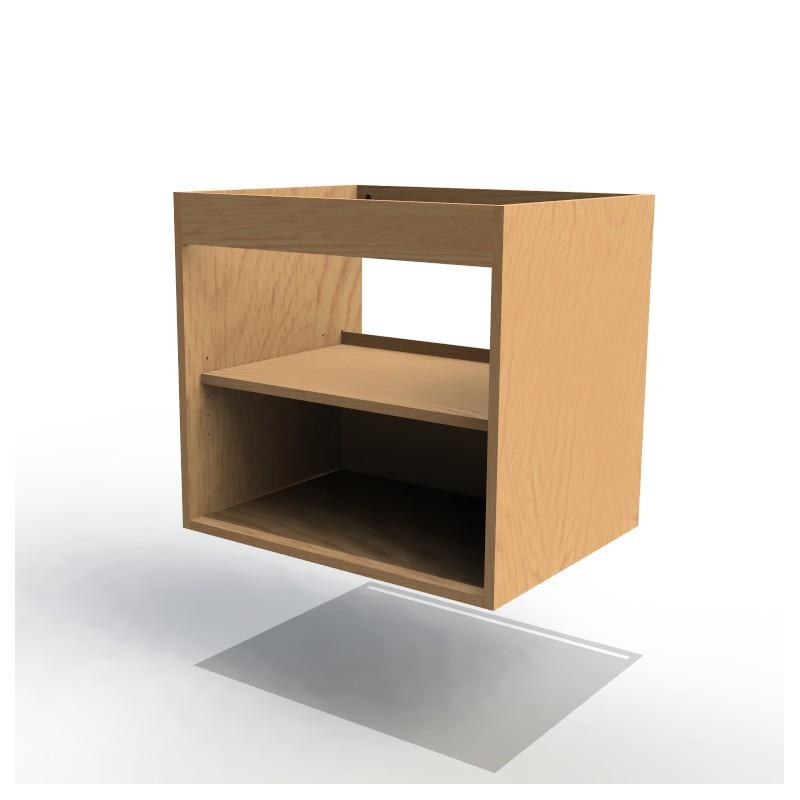 Mon espace maison caisson sous vasque largeur 60cm mdf for Assemblage meuble mdf