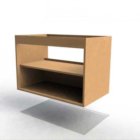 Mon espace maison caisson sous vasque largeur 80cm mdf for Assemblage meuble mdf