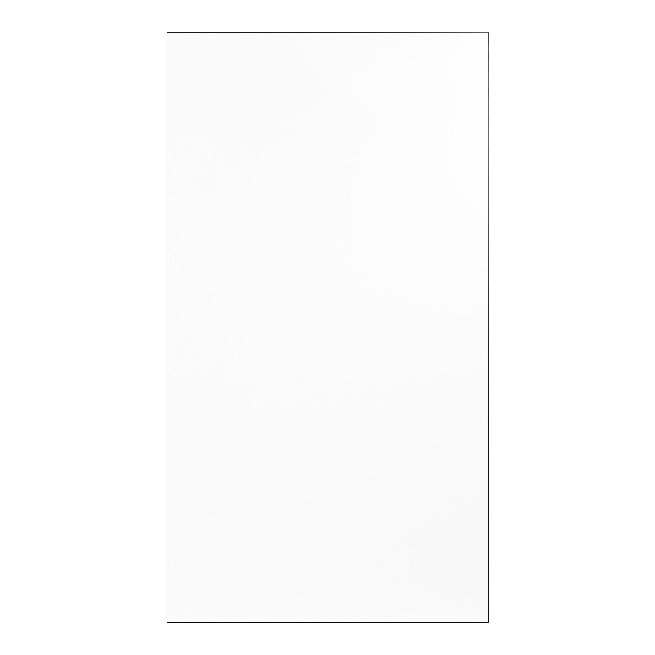 porte meuble salle de bain blanche brillante