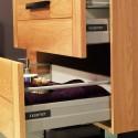 2 Kits coulisses tiroir Ma-créa amortissable pour meuble larg. 60cm