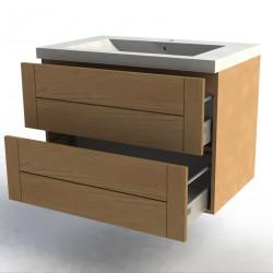 meuble bas 80CM chene facades Design'
