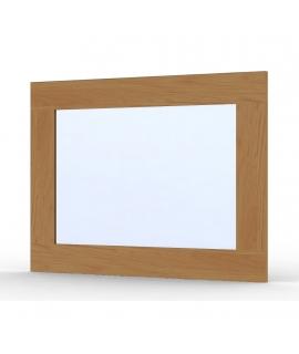 Miroir Ma-créa chêne vernis