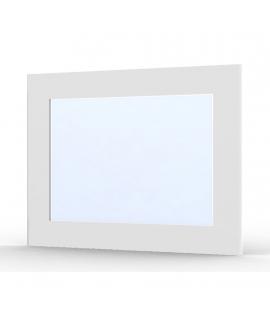 Miroir Ma-créa Roma blanc brillant