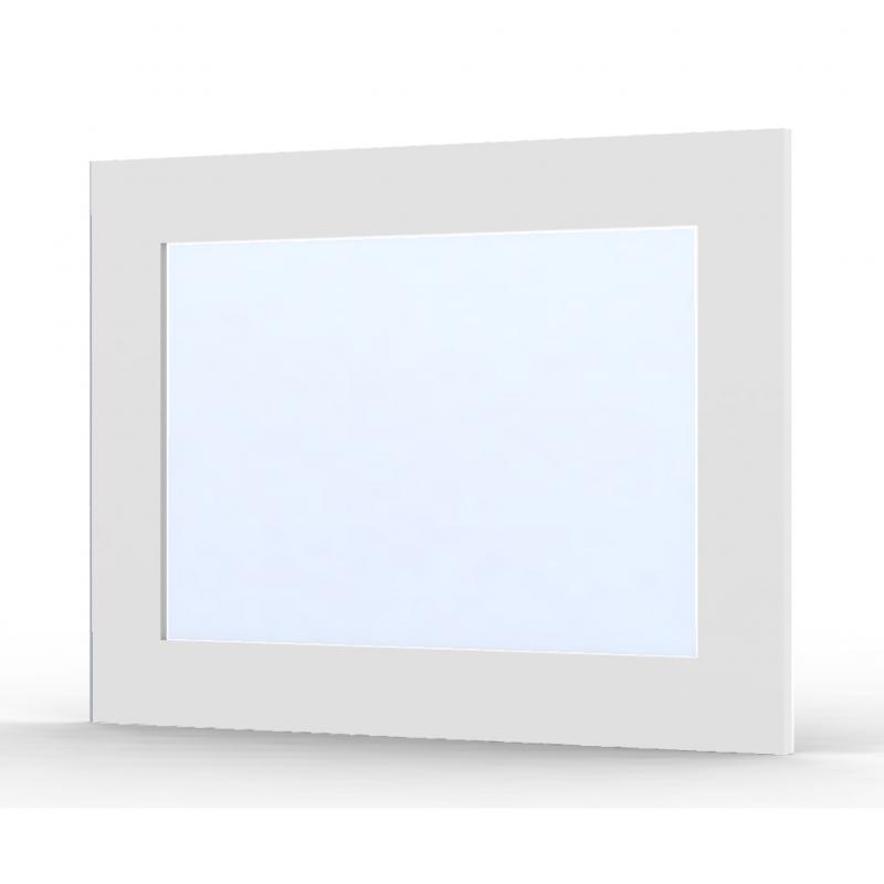 Miroir ma cr a roma blanc brillant mon espace maison for Miroir laque blanc brillant
