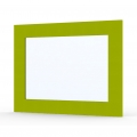 Miroir Ma-créa Grana vert brillant