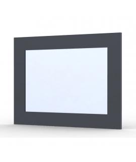 Miroir Ma-créa Perla gris brillant