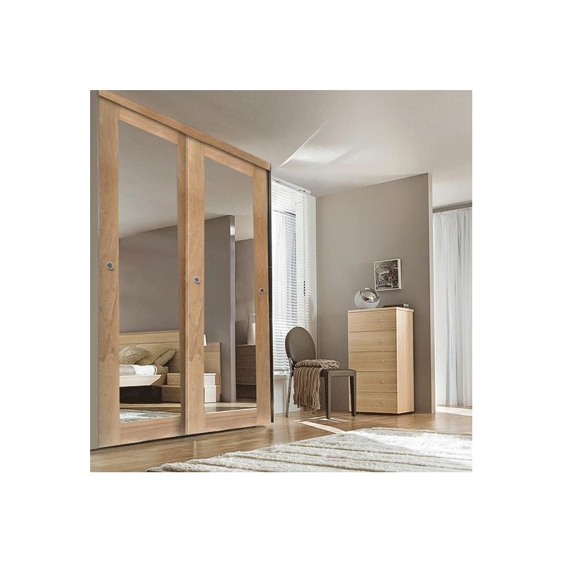 vantail porte de placard coulissante largeur 76cm. Black Bedroom Furniture Sets. Home Design Ideas