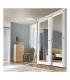 Vantail RB panel Mirror larg. 76cm