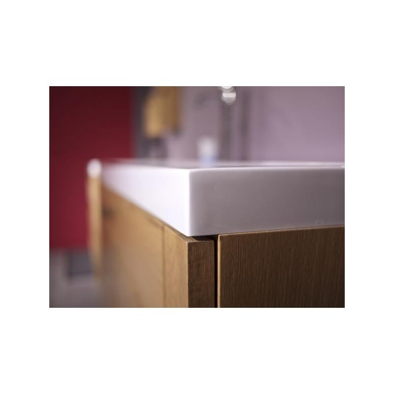 plan vasque r sine blanche larg 80cm mon espace maison. Black Bedroom Furniture Sets. Home Design Ideas