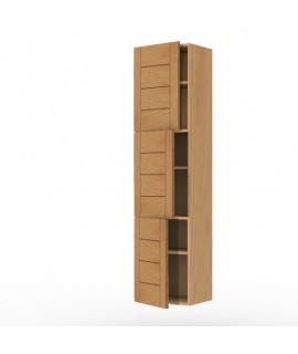 Colonne 3 portes 40cm chêne façades Design'