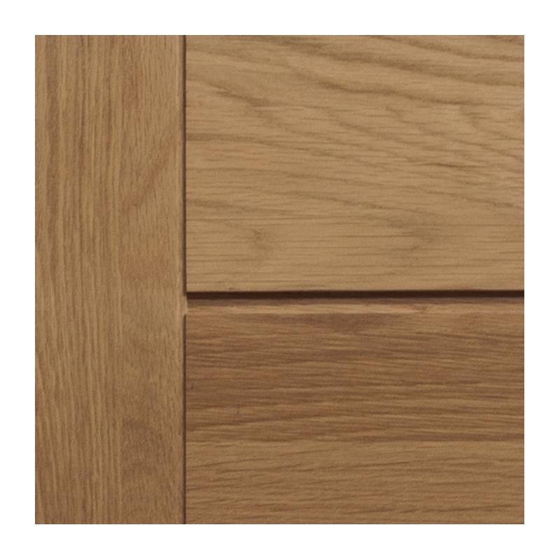 Meuble bas salle de bain chene verni largeur 80cm for Facade porte meuble salle de bain