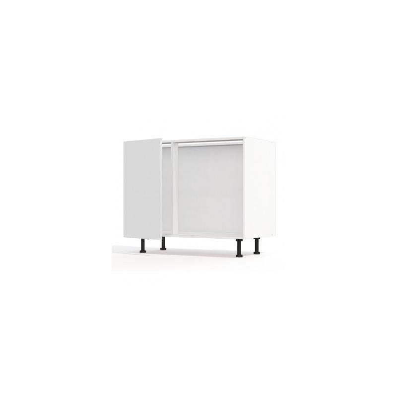 mon espace maison meuble bas d 39 angle cuisine blanc. Black Bedroom Furniture Sets. Home Design Ideas