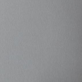 Plan de travail couleur alu brossé l.209xp.60xép.2,9cm
