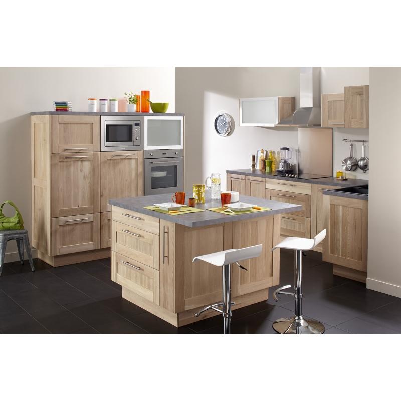 mon espace maison fileur d 39 angle cuisine chene massif brut. Black Bedroom Furniture Sets. Home Design Ideas