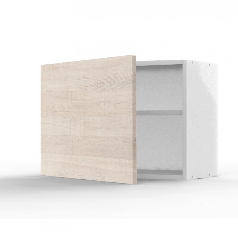 mon espace maison meuble haut cuisine chene clair largeur 60cm. Black Bedroom Furniture Sets. Home Design Ideas