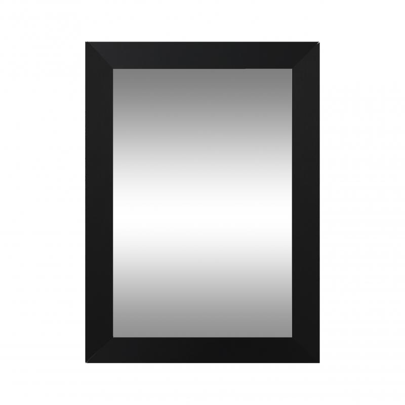 Porte Aluminia noir miroir larg.40 CM