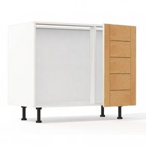 Meuble bas d'angle sous évier Design' L100