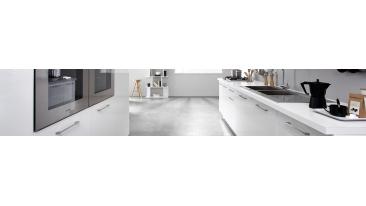 Epure - Meubles de cuisine laqué blanc brillant - Mon Espace Maison